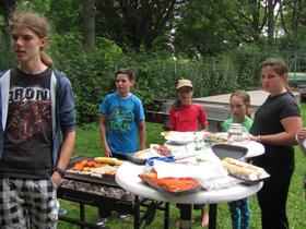 Tagesausflug 2014 - Grillen