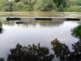 Hochwasser beim RVL, Mai 2013
