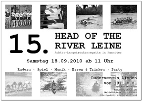 Head Of The River Leine 2010