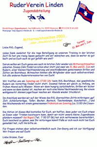 Zelten 2003 Flyer